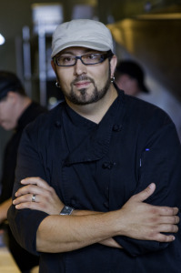 Chef Dustan Bristol.